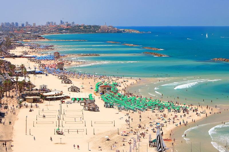 חופי תל אביב - השכרת רכב בתל אביב - שלמה סיקסט