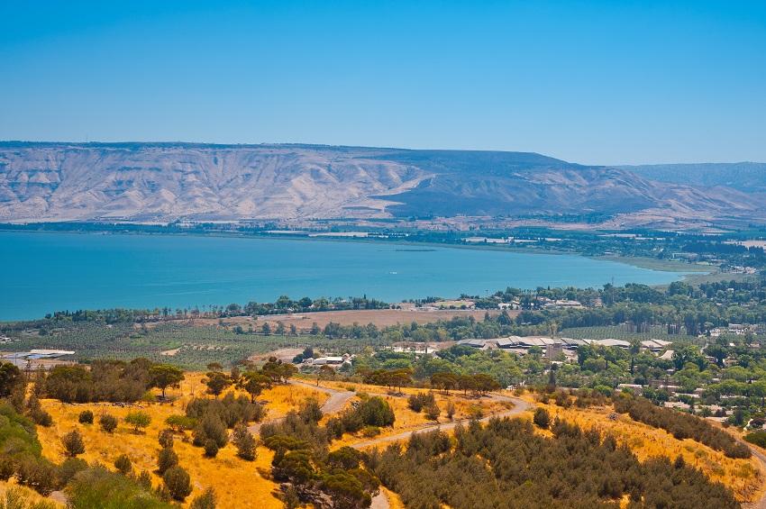 חופי הכנרת - השכרת רכב בישראל