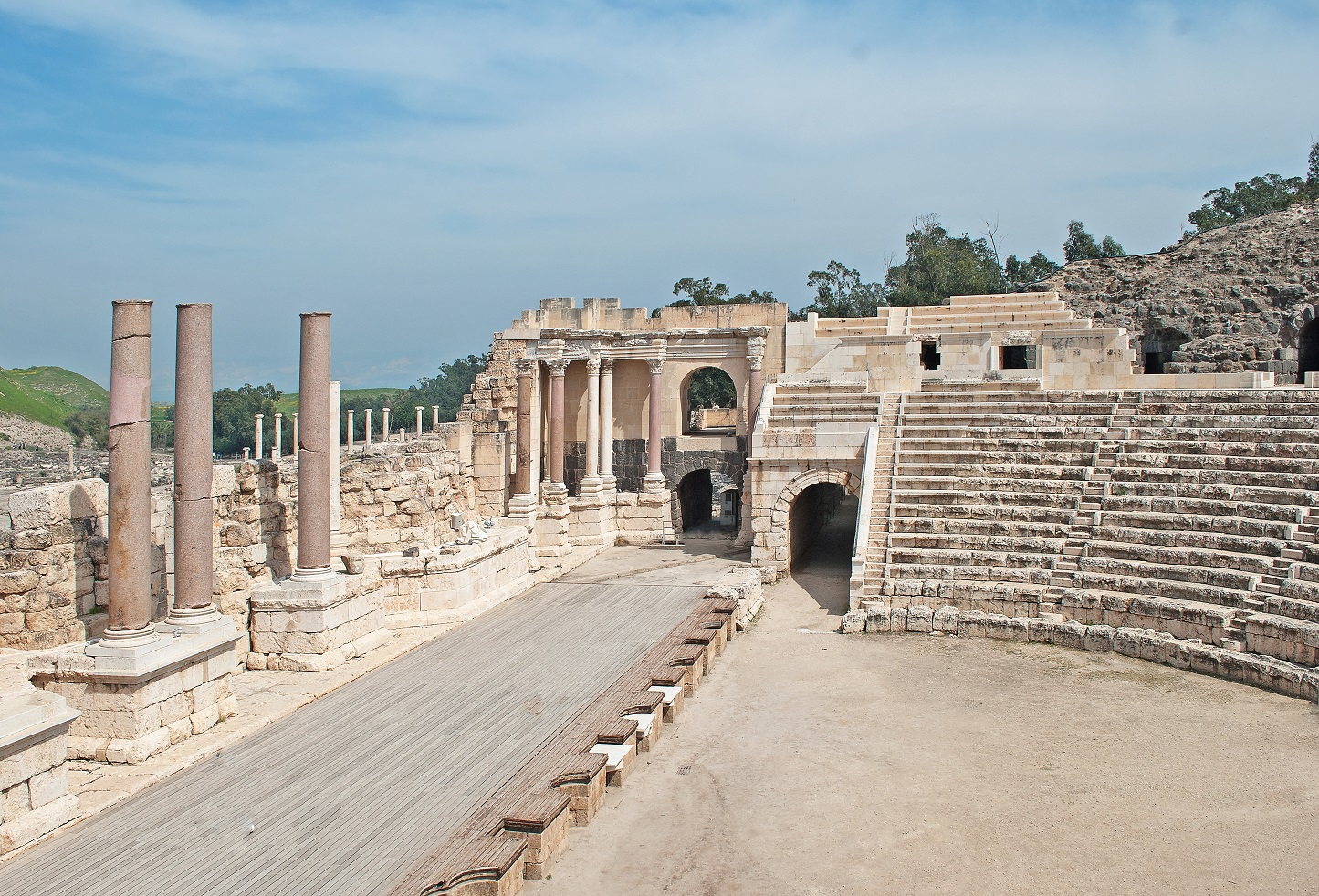 Archeological Sites - car rental israel