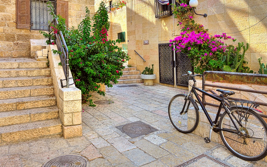 Nachalat Shiva'a: the beautiful Jerusalem neighborhood