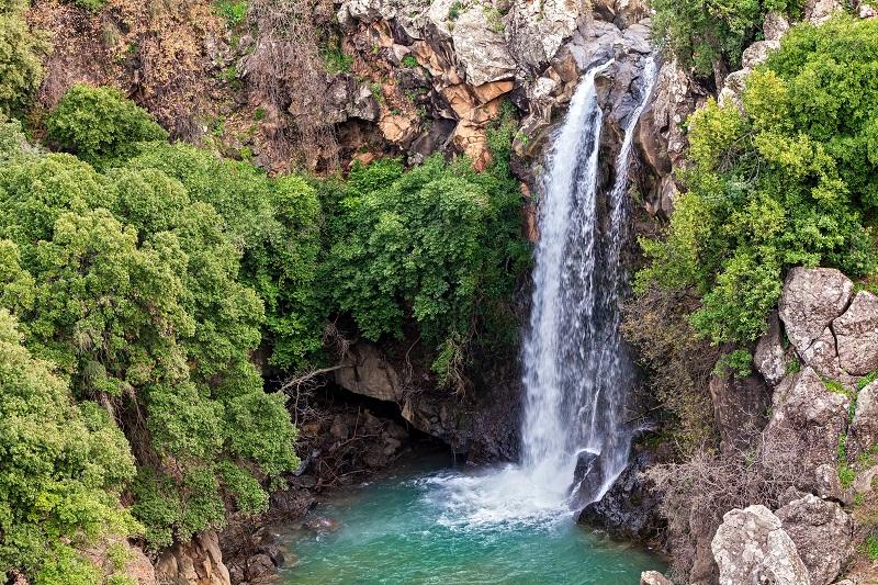 Top Israel Waterfalls